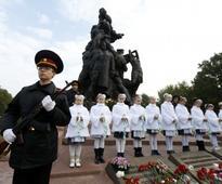 Ukraine marks 75th anniversary of killing of Jews at Babi Yar