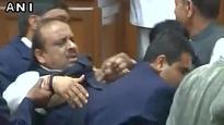 BJP MLA Vijender Gupta marshalled out of Delhi Assembly amid uproar