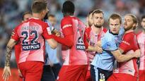 Dramatic late penalty in fiesty Melbourne City-Sydney FC match