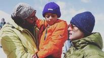 It's a family vacation for Ajay & Kajol in Bulgaria
