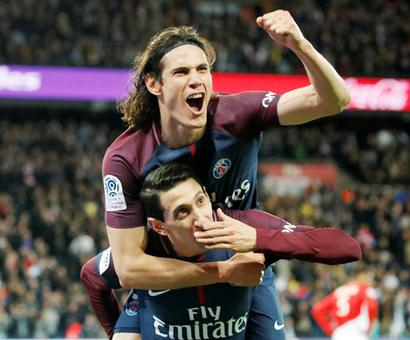 Paris St Germain thrash AS Monaco to win Ligue 1 title