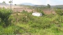 Dam burst in Brazil caught on video releasing torrents of mining waste