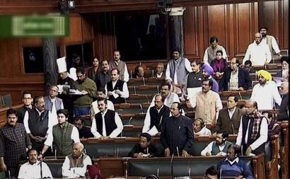 Arunachal showdown: Congress disrupts Parliament, stages walkout