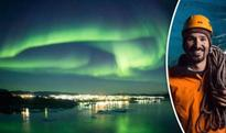Mystical Northern Lights: Stargazers mesmerised by magical green aurora