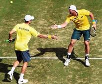 Australia beat Slovakia in World Group playoff