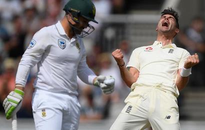 4th Test, Day 2: England's Anderson presses home advantage
