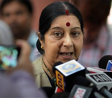 Left raises a toast to Sushma Swaraj, India's favourite mantri