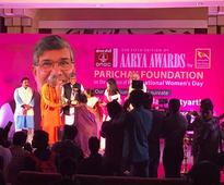 Nobel laureate Kailash Satyarthi presented Aarya Awards to 12 women achievers in Bhubaneswar