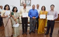 Dr. Jitendra Singh Awards Certificates Of Appreciation