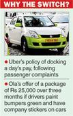 Ola trumps Uber in battle of app cabs