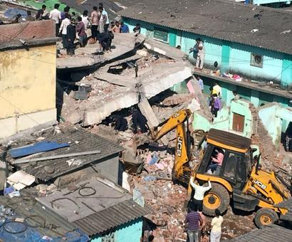 3 killed as 4-storey building collapses in Bhiwandi