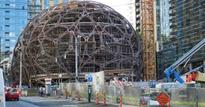 Check out Amazon's odd-looking new headquarters