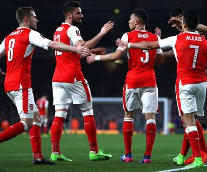 FA Cup: Arsenal end Lincoln's adventure