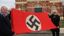 Nazi flag OK in museum