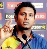 Sri Lanka skipper Angelo Mathews no fan of points system