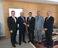 BANK OF SHARJAH RECEIVES J.P. MORGAN QUALITY RECOGNITION AWARD