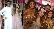 Bipasha Basu's mehendi: Shilpa Shetty and Shamita groove to Don't be Shy, watch video
