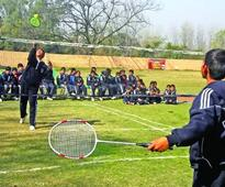 DPS Nagbani organises Inter-House Badminton Competition