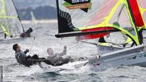 Seaton and McGovern 10th in 49er class