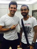 Here`s how Hrithik made his fan`s day
