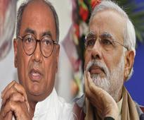 Digvijaya 'praises' Modi for behaving like an Indian PM on Pakistan