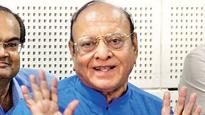 Shankersinh Vaghela appears at party office after a month