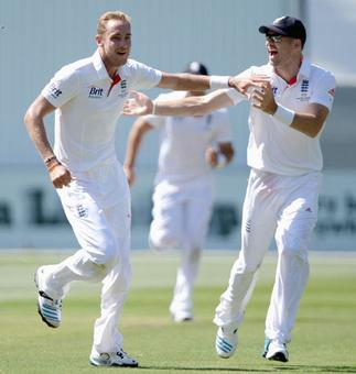 Broad 'pleased' with blooming partnership with Anderson