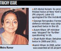 Averse to frisking Meira Kumar shoots down Ukraine visit