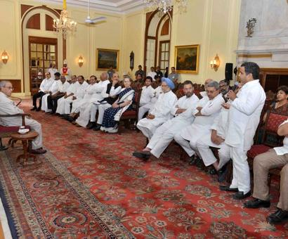 Protect India's constitutional democracy: Opposition to Prez
