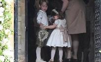 Prince George and Princess Charlotte look adorable at their aunt Pippa Middleton's wedding
