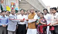 Moghbazar-Mouchak flyover opened to traffic