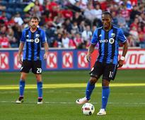 Late sub Drogba makes Impact happy Montreal Impact forward Didier Drogba (11) kicks the ball against the Chicag...