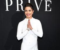 Priyanka Chopra attends Armani fashion show in Paris