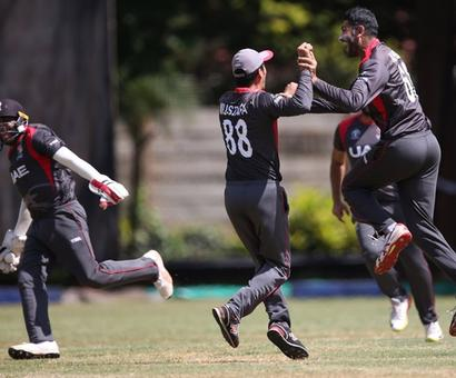ICC World Cup Qualifier: UAE end Zimbabwe's dream