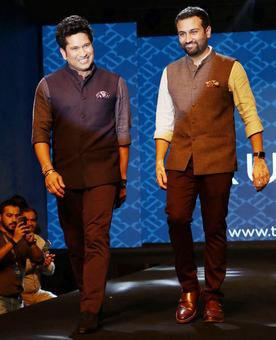 Aila! What's Sachin doing on the runway?
