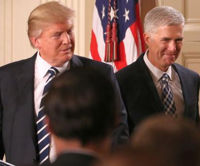 Trump picks Neil Gorsuch for US Supreme Court