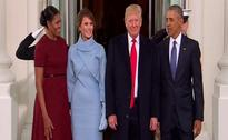 Donald Trump's Big Day Underway: Tea With Obamas, Then The Oath
