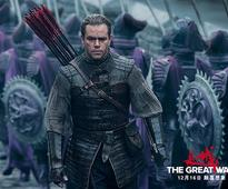 'Great Wall' of controversy over Matt Damon casting