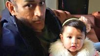Doting father MS Dhoni shares adorable picture of his fairy-like daughter Ziva