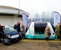 House of Lords Committee visits driverless vehicle research project