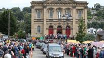 Funeral being held for slain UK lawmaker Jo Cox