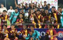 Bengal lift Santosh Trophy for 32nd time