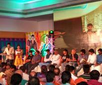 Sudeep, Nithya Menen's 'Mudinja Ivana Pudi' trailer, audio released [Video+Photos]