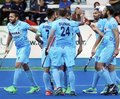 India win against Pakistan in hockey semi-finals