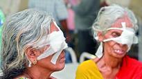 Hyderabad: Eye surgery victims of Sarojini Devi Hospital seek compensation
