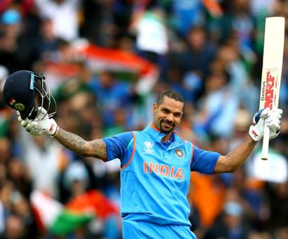 Shikhar Dhawan: The 'Champion' performer
