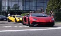 Massive Lamborghini Parade For Ferruccio Lamborghini's 100th Birthday