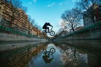 Watch Matthias Dandois Take Over A Ghost Canal
