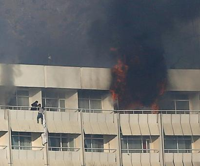 At least 18 dead in Kabul hotel attack; Taliban claims responsibility