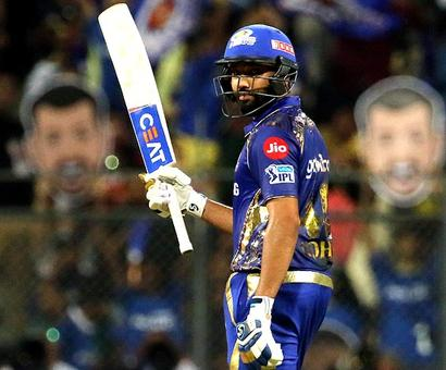 IPL PHOTOS: Rohit stars in Mumbai's easy win over RCB